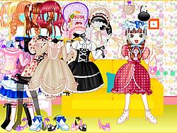 Sweet Candy Dress Up oyunu