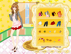 Girl Dressup Makeover 6 oyunu