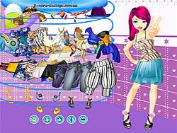 Gioca gratuitamente a Girl Dressup Makeover 63