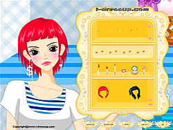 Gioca gratuitamente a Girl Dressup Makeover 14