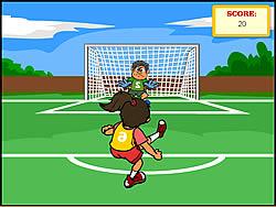 Soccer Challenge game