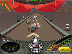 Jogar jogo grátis UFO Racing