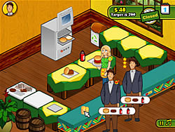 Gioca gratuitamente a Burger Restaurant 2
