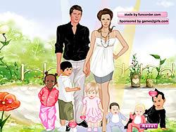 Gioca gratuitamente a Angelina and Brad Dressup