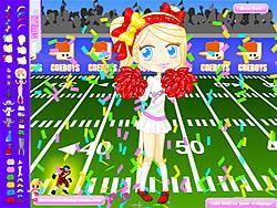 Gioca gratuitamente a Football Cheerleader