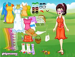 Cute Wendy Dressup game