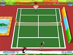 Jogar jogo grátis Twisted Tennis