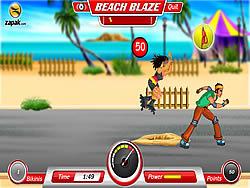 Beach Blaze game