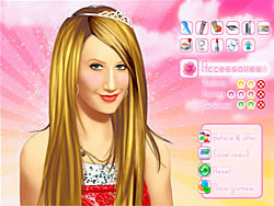 Gioca gratuitamente a Makeup Ashley Tisdale