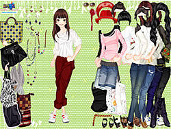 Eliza Girl Dressup game