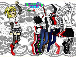 Death Note Misa Dress Up game